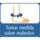 TOBILLERA ESTABILIZADORA EN NEOPRENO CON BALLENAS MEDIO LATERALES DOBLES Y CREMALLERA ANTERIOR