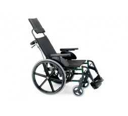 SILLA DE RUEDA MANUAL PREMIUM - RESPALDO RECLINABLE